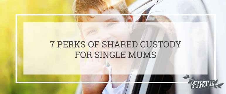 Perks of shared custody