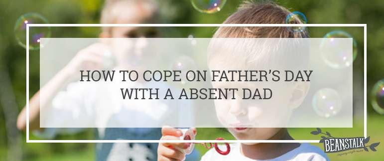 Absent dad on Father's Day
