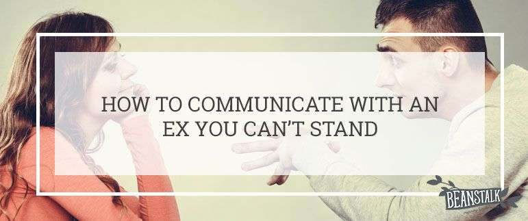 Communicating with your ex