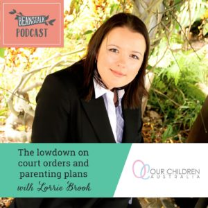Court orders and parenting plans podcast