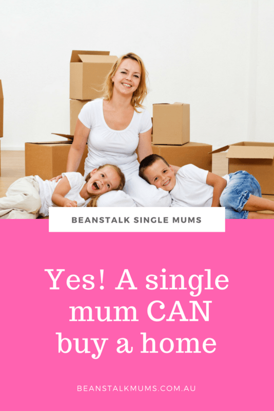 Single mum with new home