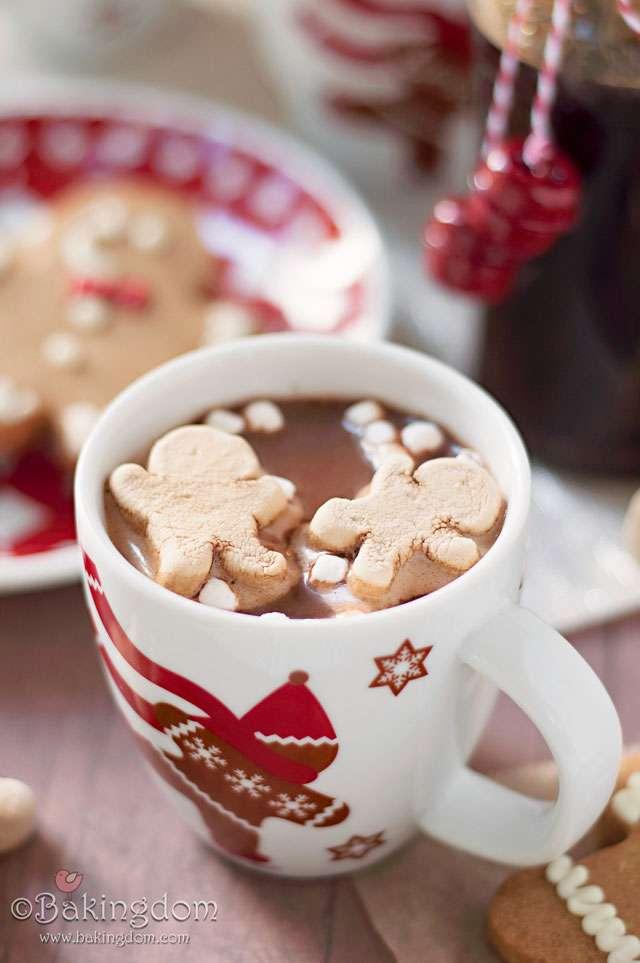 Gingerbread Hot Cocoa | Beanstalk Mums