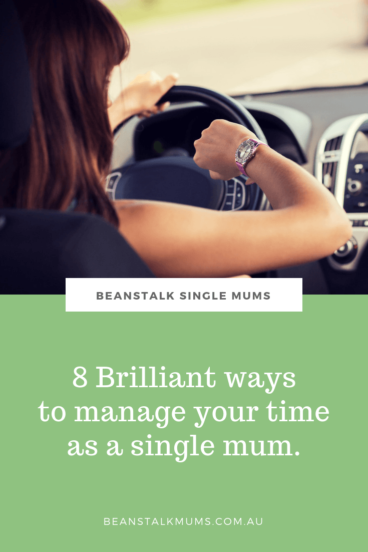 Brilliant time management tips for busy single mums | Beanstalk Single Mums Pinterest