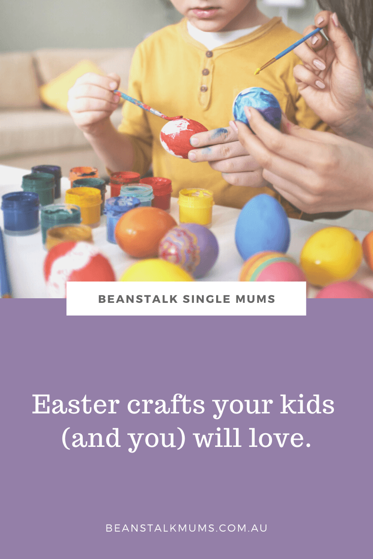 15 Fabulous Easter crafts your kids will love | Beanstalk Single Mums Pinterest