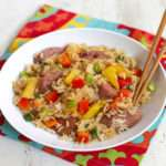 cheap healthy kids meals pineapple fried rice