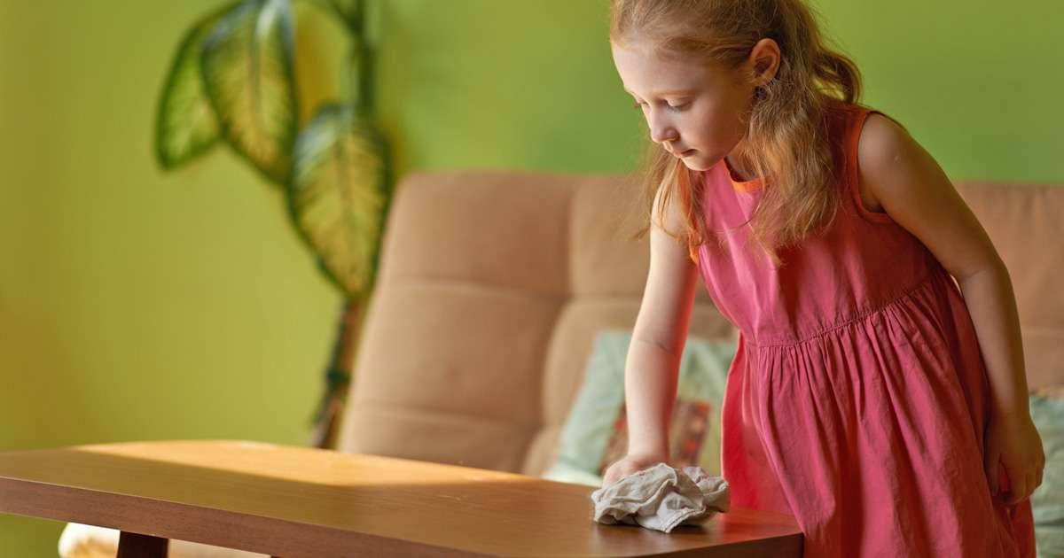 Easy guide to age appropriate chores for children   Beanstalk Mums
