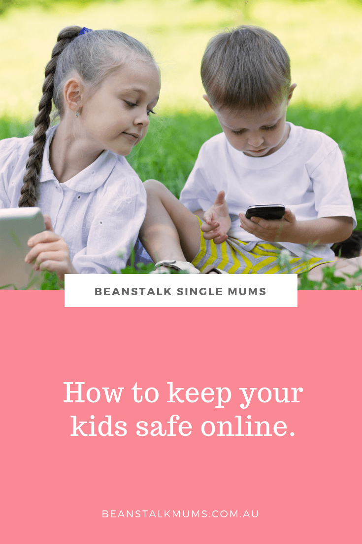 Your guide to internet safety for kids | Beanstalk Single Mums Pinterest