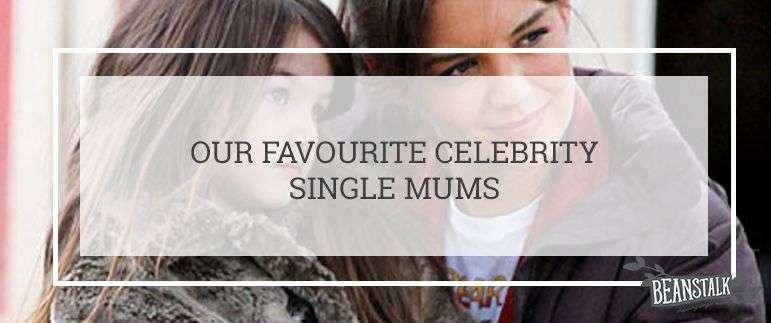 Celebrity single mums