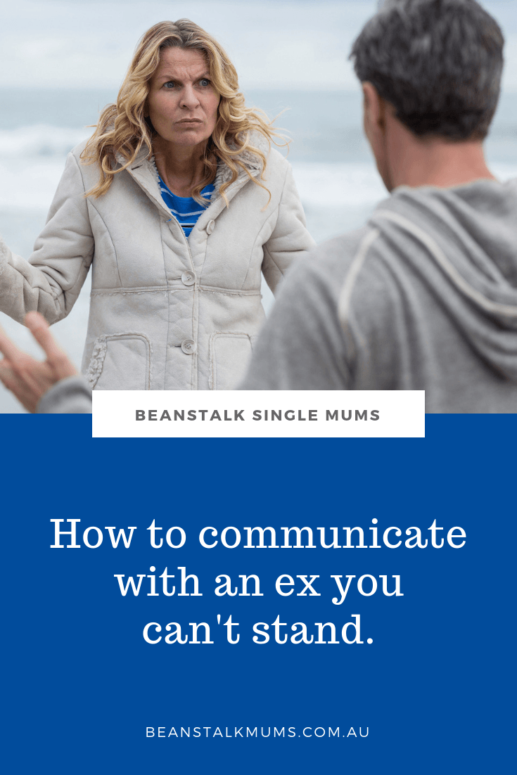 How to communicate with an ex you can't stand   Beanstalk Single Mums Pinterest