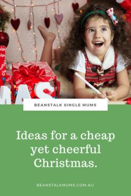 Cheap happy Christmas ideas