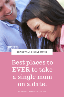 Where to take a single mum on a date Pinterest