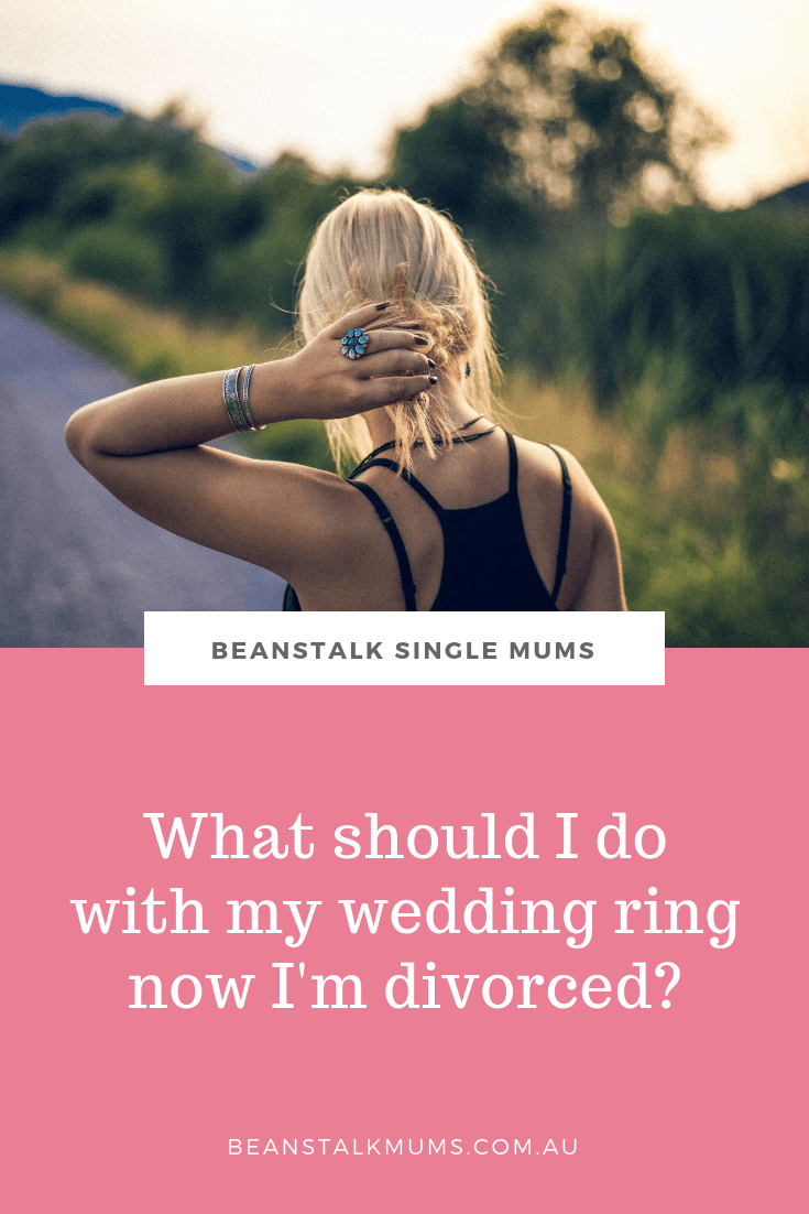 What should I do with my wedding ring now I'm divorced? | Beanstalk Single Mums pinterest