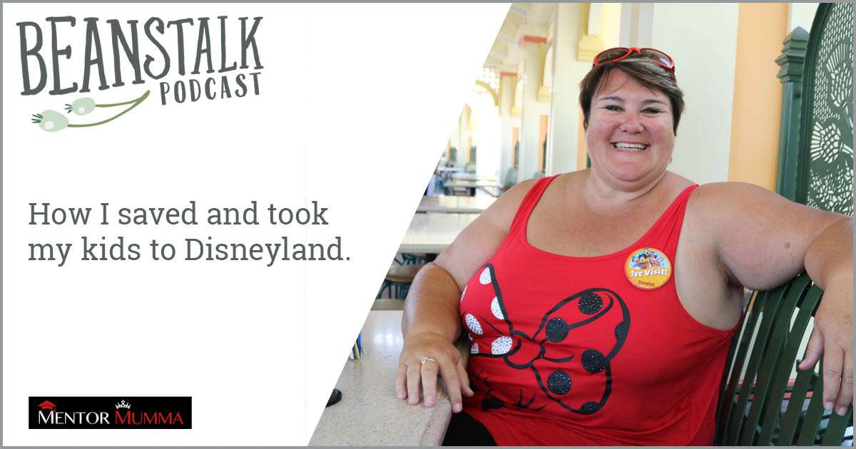 Single mum in Disneyland