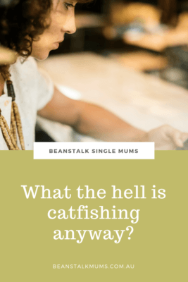 What is catfishing?
