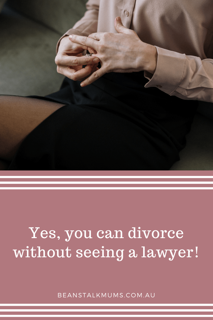 Divorce without seeing a lawyer | Beanstalk Single Mums Pinterest