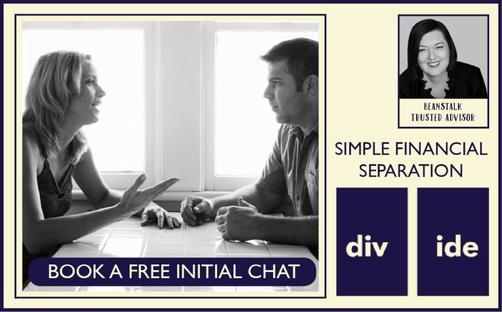 Divide financial and separation support