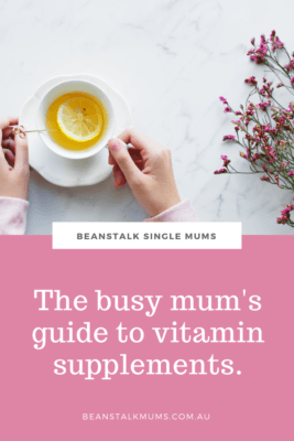 Guide to vitamins for busy mums