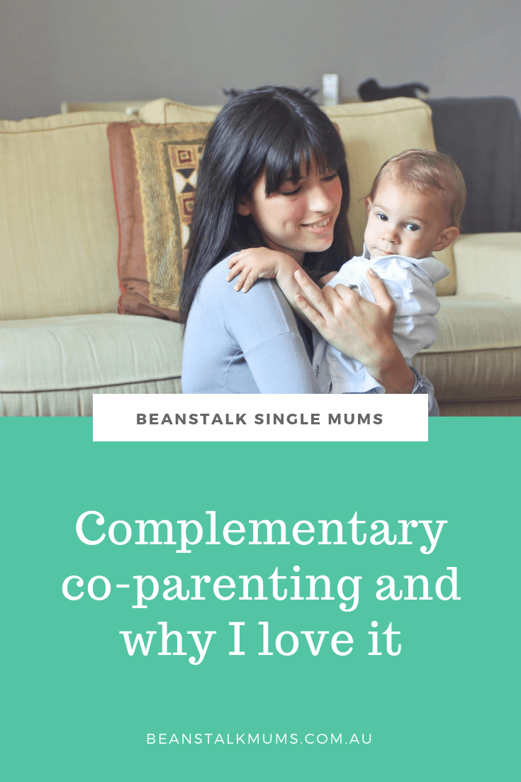 Complementary co-parenting and why I love it | Beanstalk Single Mums Pinterest