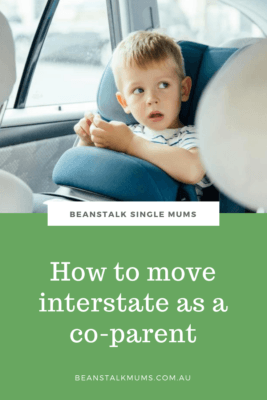 Moving interstate as a coparent