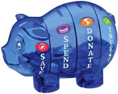 Money Savvy Kids piggy bank