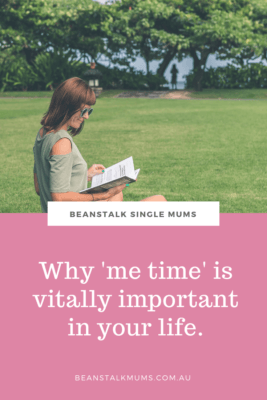 Me time for single mothers