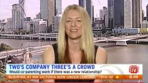 Lucy Good on Weekend Sunrise | Co-parenting | Beanstalk Mums