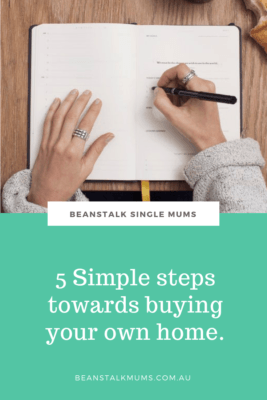 Single parent buying a home Pinterest