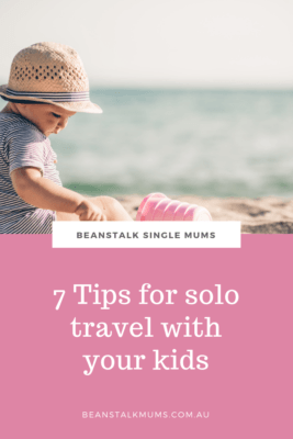 Travel as a single mum