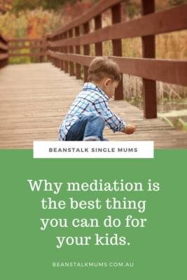 Kids and mediation