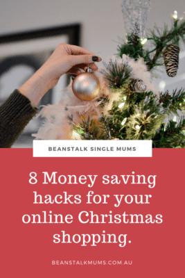 Online Christmas shopping hacks