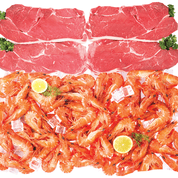 Chrisco meat and seafood hamper