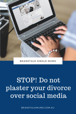 Divorce and social media Pinterest