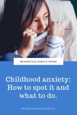 Anxious child Pinterest