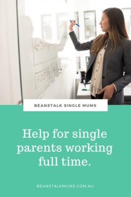 Help for single parents working full time Pinterest