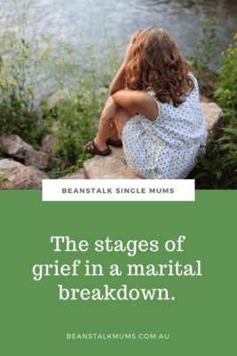 Stages of grief in a breakup Pinterest