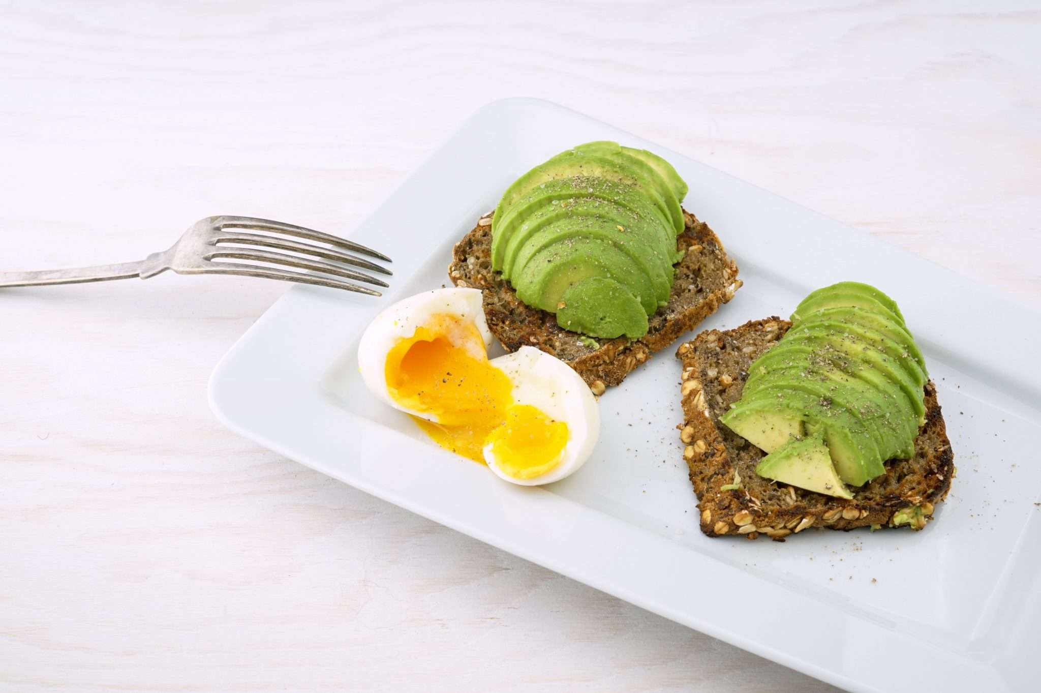 Avocado in toast superfood