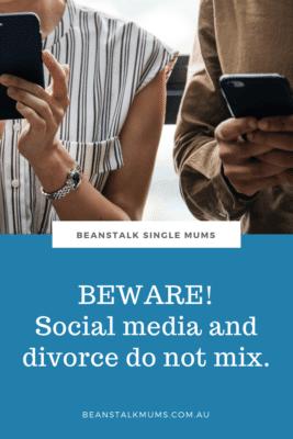 Separation and social media Pinterest