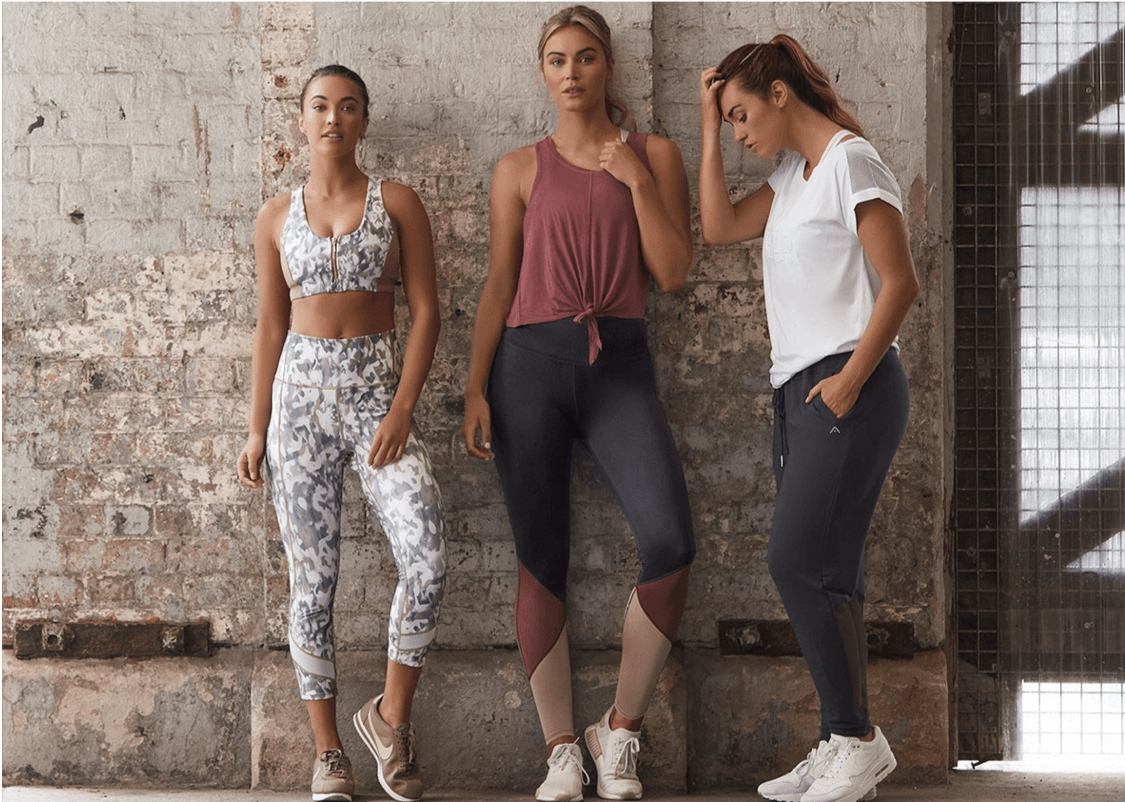 Where to buy activewear and gym clothes online that aren't