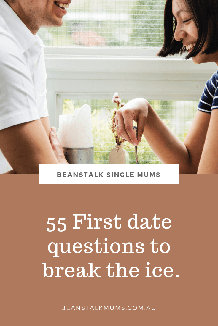 55 First date questions to break the ice | Beanstalk Mums Pinterest