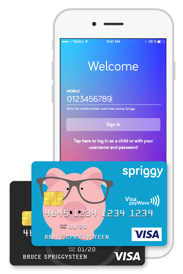 Spriggy pocket money app | Beanstalk Mums