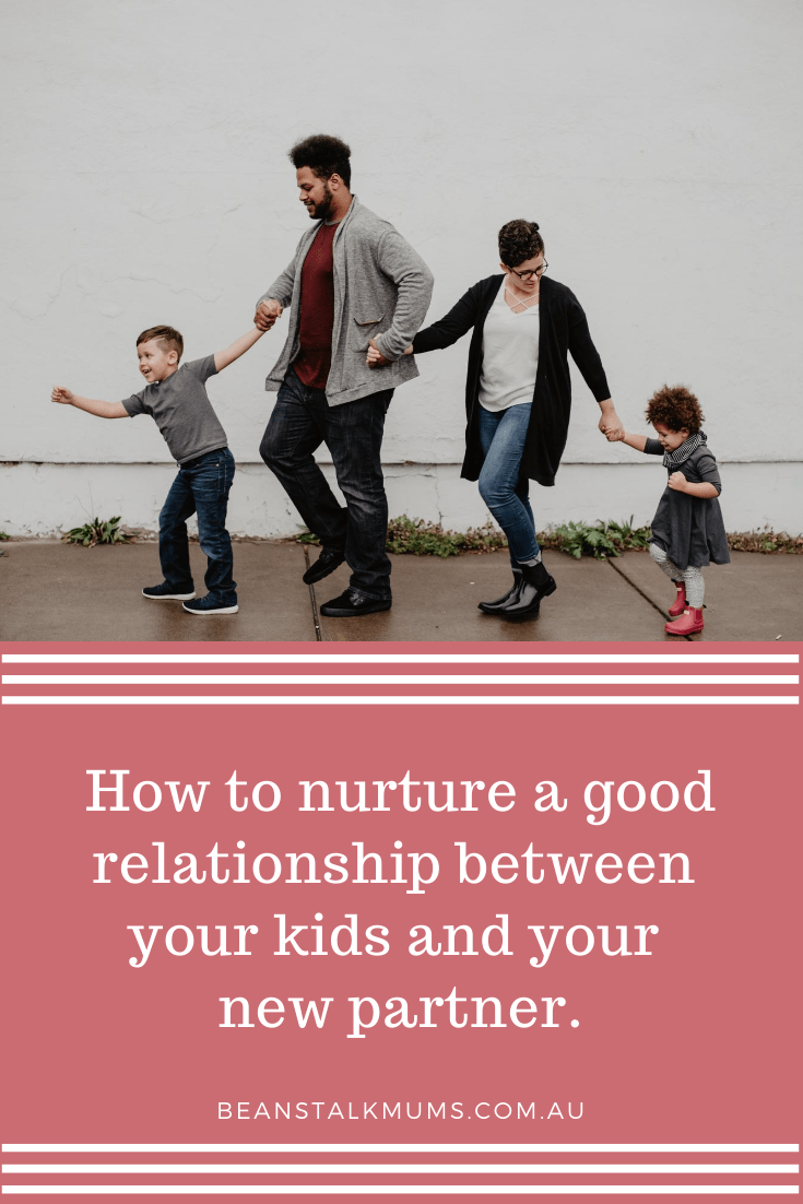Relationship between kids and new partner | Beanstalk Single Mums Pinterest