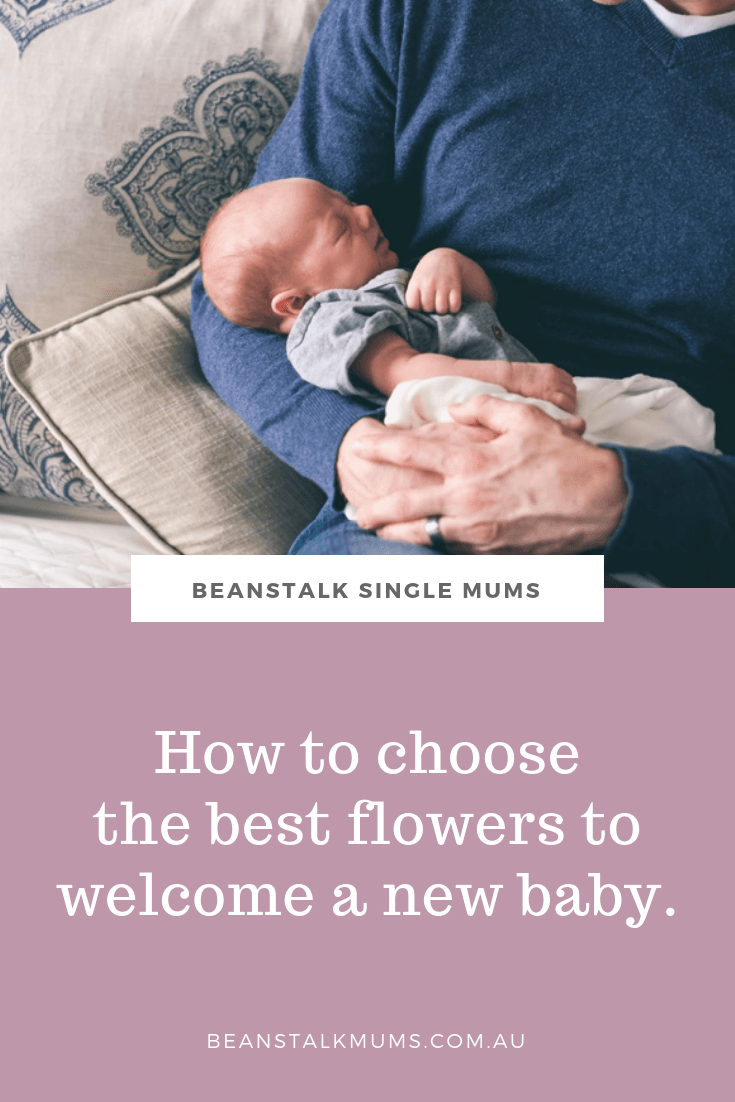 How to choose the best flowers to welcome a new baby | Beanstalk Mums