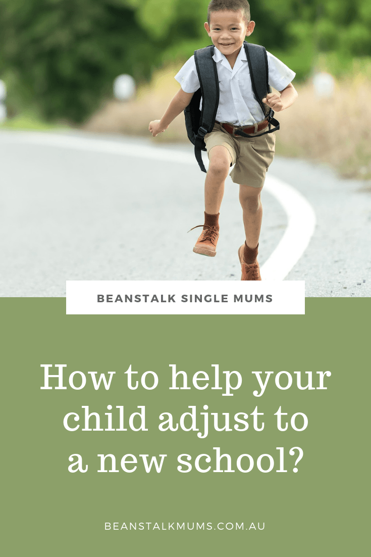 How to help your child adjust to a new school? | Beanstalk Mums Pinterest