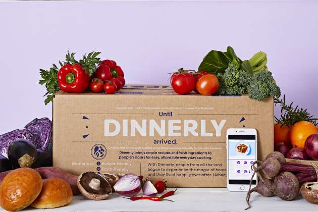 Meal box kit | Dinnerly | Beanstalk Mums