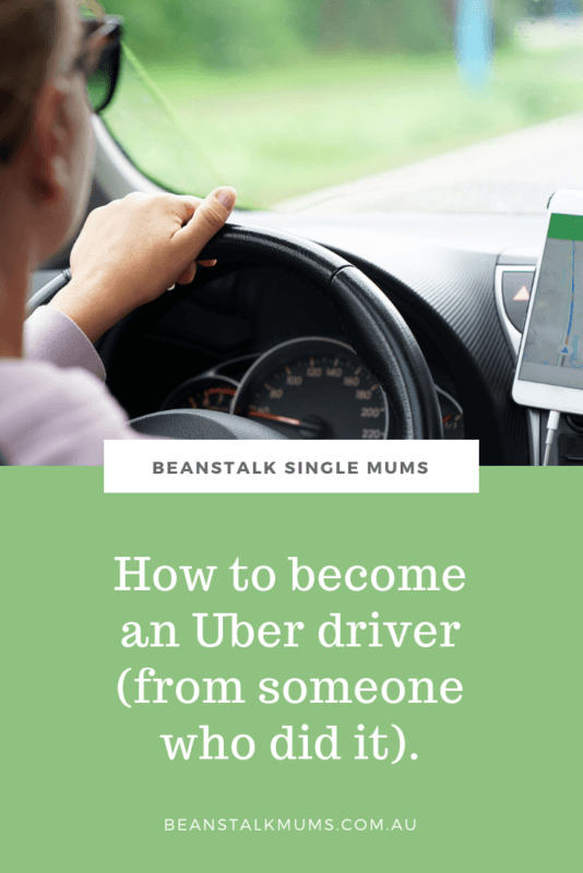 How to become an Uber driver in Australia | Beanstalk Single Mums Pinterest