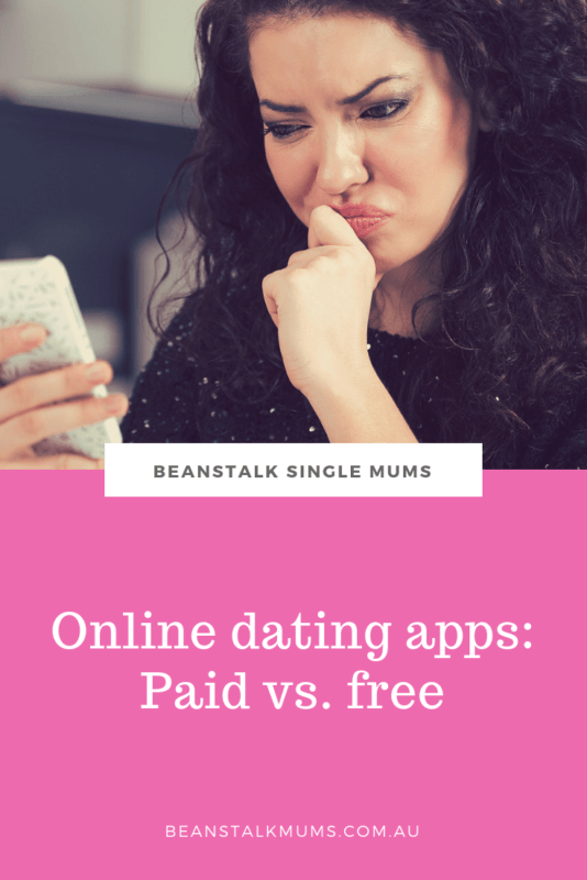 Online dating apps: Paid vs free | Beanstalk Mums Pinterest