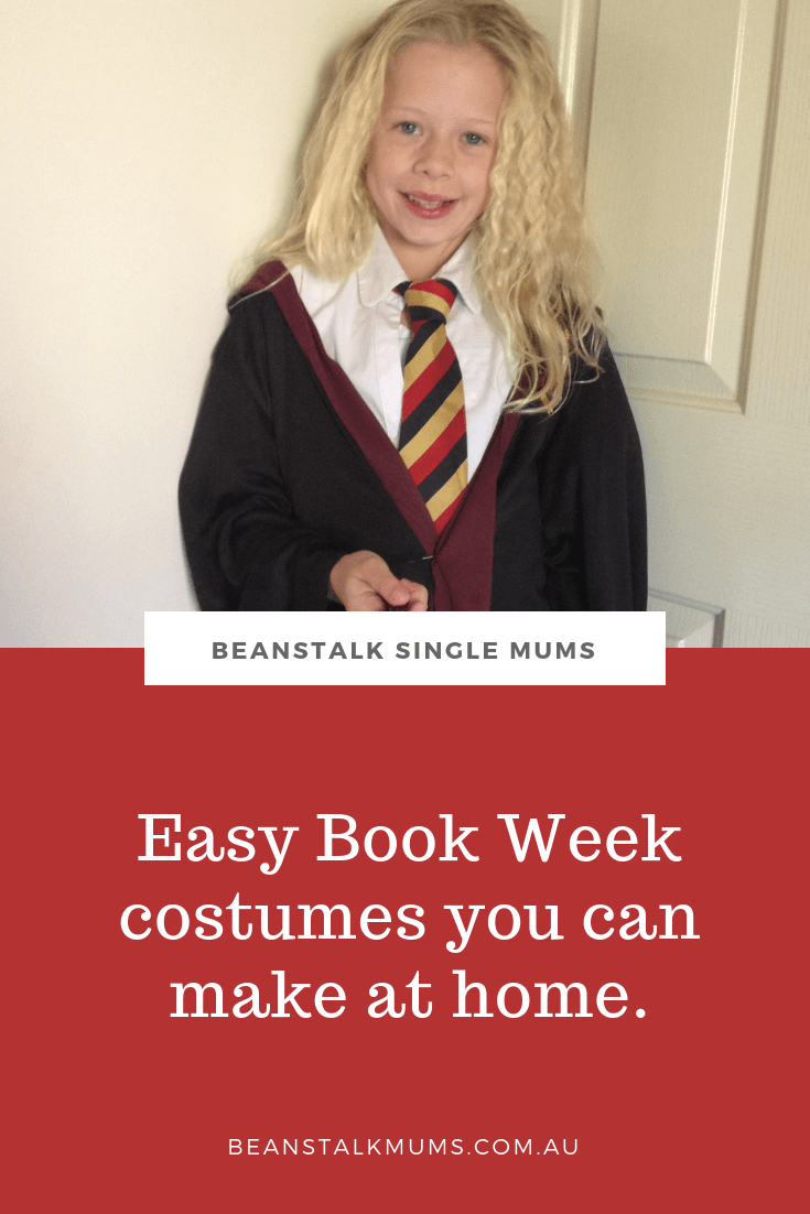 Easy Book Week costumes you can make at home | Beanstalk Single Mums
