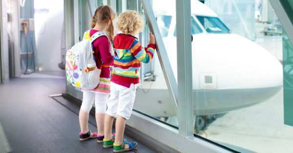 Are your kids flying alone? | Beanstalk Single Mums