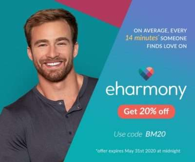 eharmony | 20% discount | Beanstalk Mums
