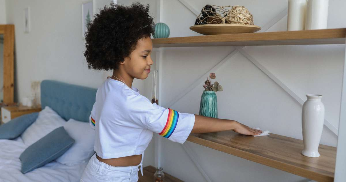 Age appropriate chores for children | Beanstalk Mums